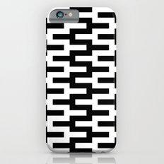 Black & White Zigzag Slim Case iPhone 6s