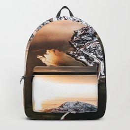 lofoten at dusk Backpack