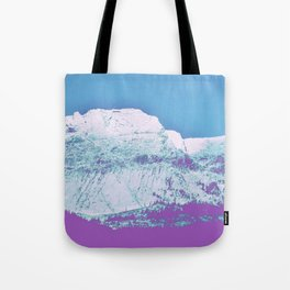 Mountain unexplained Tote Bag