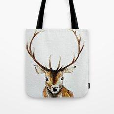 Buck - Watercolor Tote Bag