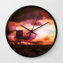 deceptive silence Wall Clock