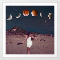 planets Art Prints featuring Planets by Cs025