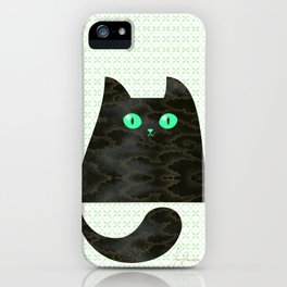 Cloud Kitty iPhone Case