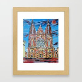 St Vitus Cathedral Framed Art Print