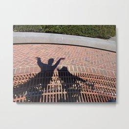 Shadow Work Metal Print