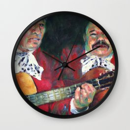 Two Mariachis Wall Clock