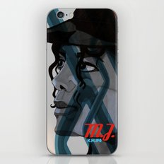 Looking Out Across The Nighttime iPhone & iPod Skin