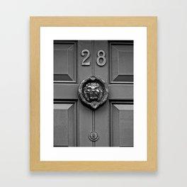 The Lion at 28 Framed Art Print