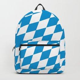 Diagonal German Bavarian Pattern Oktoberfst Backpack
