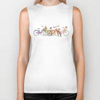 bikes Biker Tanks featuring bikes by takmaj