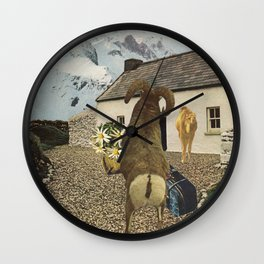 a pilgrimage of sorts Wall Clock