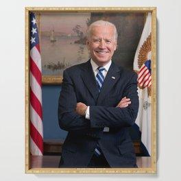 Joe Biden Portrait Photo Serving Tray