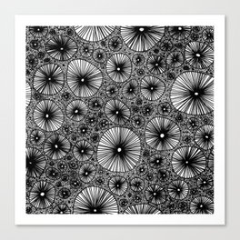 Black Holes Canvas Print