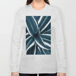 White Jewel - Dracaena Delight #1 #tropical #decor #art #society6 Long Sleeve T-shirt