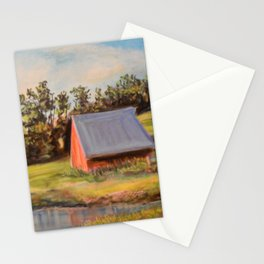 Nestled in the Farmland Stationery Cards