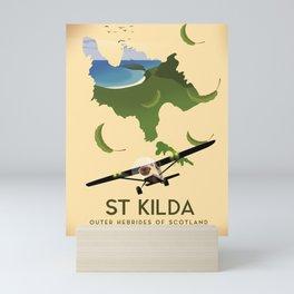 St Kilda, Outer Hebrides Scotland Mini Art Print