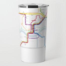 Cincinnati Rail Map 2031 Travel Mug