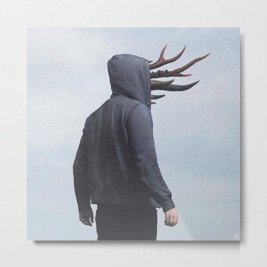 Horns Metal Print