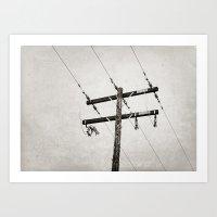 High Voltage Art Print