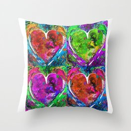Romantic Art - Completely Yours - By Sharon Cummings Throw Pillow