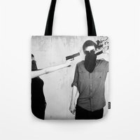 splatter Tote Bags featuring Splatter by Brandon Juarez