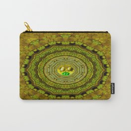 Eyewear In The Northern Lights Pattern Carry-All Pouch