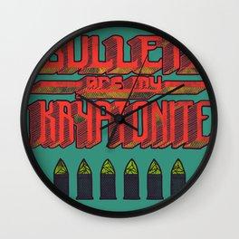 Kryptonite (alternate) Wall Clock