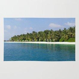 Palm Beach - Maldives Rug
