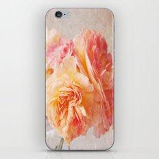 Textured Pastel Rose iPhone & iPod Skin