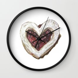 Holiday Love Cookie Wall Clock