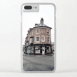 Book shop in Buxton Clear iPhone Case