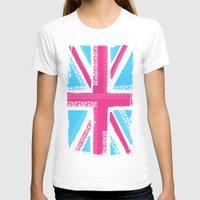 union jack T-shirts featuring Union Jack Fashion by Berberism