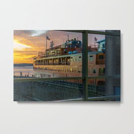 Ferry Docked (Staten Island Ferry) Metal Print