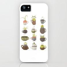 MUGS PLANTS MUGS COFFEE MUGS TEA iPhone (5, 5s) Slim Case