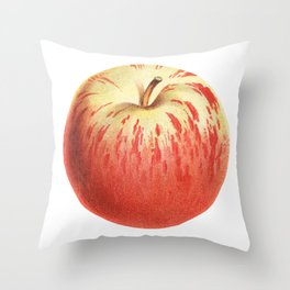 Apple Illustration Drawing Throw Pillow