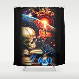 The Right Time Shower Curtain