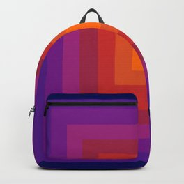 Freaky Deaky - abstract retro 70s style throwback outtasight art decor 1970s vibes Backpack