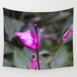 pink flowers • nature photography Wall Tapestry