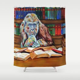 Ishmael- homage to Daniel Quinn Shower Curtain