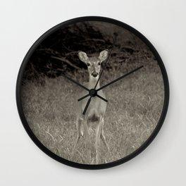 Deer Series #1 Wall Clock
