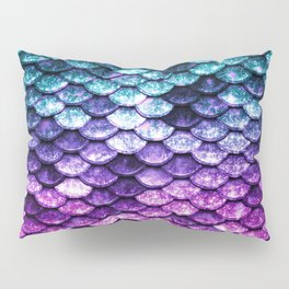 Mermaid Tail Dark Unicorn Pillow Sham