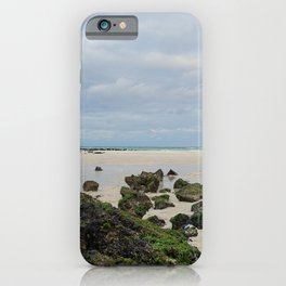 Beach on the jeju  island sea in Korea | Cloudy sky |  iPhone Case