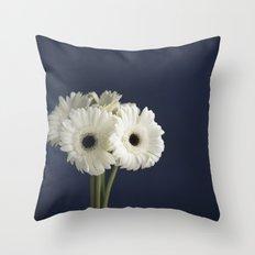 Gerbera Daisies Throw Pillow