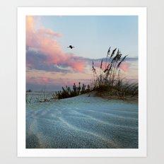Sand and Sky Art Print