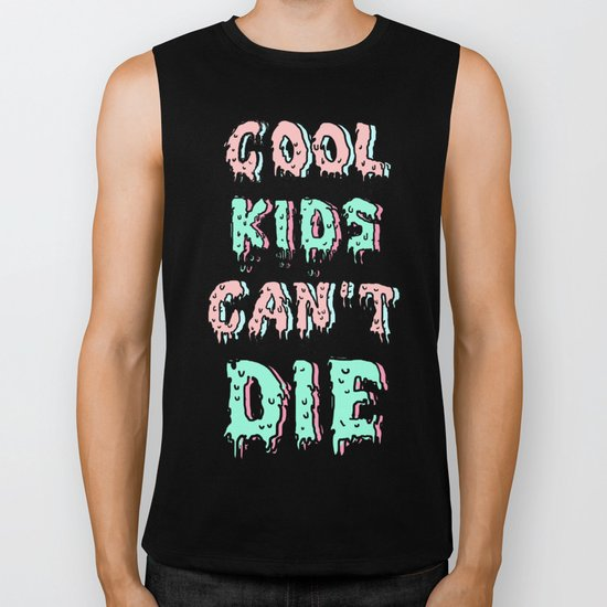 cool kids cant die Biker Tank