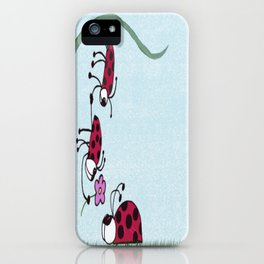 Ladybug Professing His Love iPhone Case