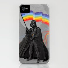 The Rainbow Side of the Force iPhone (4, 4s) Slim Case