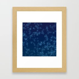 Prime Hack Links - Dark Blue Framed Art Print