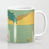 lonely Mugs featuring Lonely by Danelys Sidron