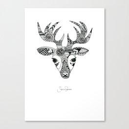 Deer Bella By Sophie Thomsen Canvas Print